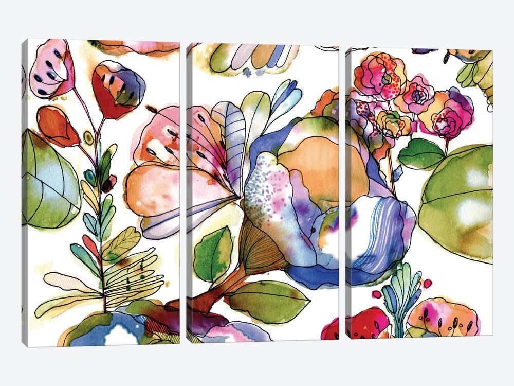 Bloosom Pastel by Cayena Blanca 3-piece Canvas Artwork