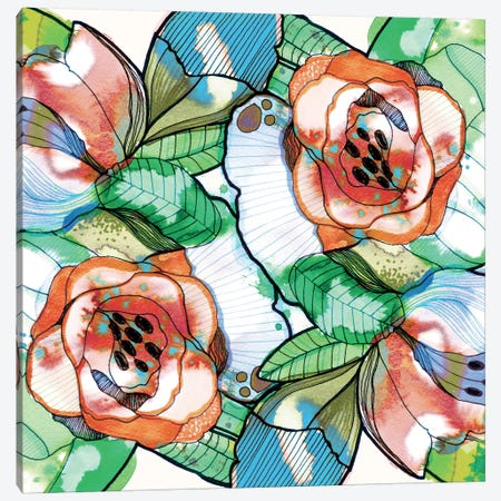 Fantasy Garden Canvas Print #CBA27} by Cayena Blanca Canvas Wall Art