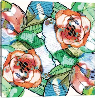 Fantasy Garden Canvas Print #CBA27