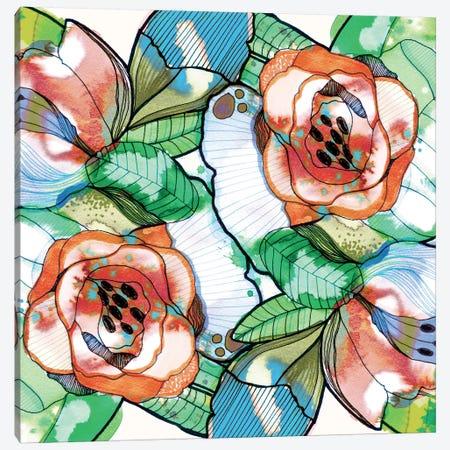 Fantasy Garden Canvas Print #CBA27} by Cayena Blanca Canvas Wall Art