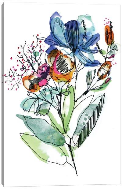 Flower Bouquet Canvas Print #CBA28
