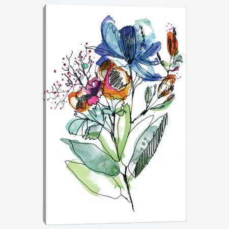 Flower Bouquet Canvas Print #CBA28} by Cayena Blanca Canvas Print