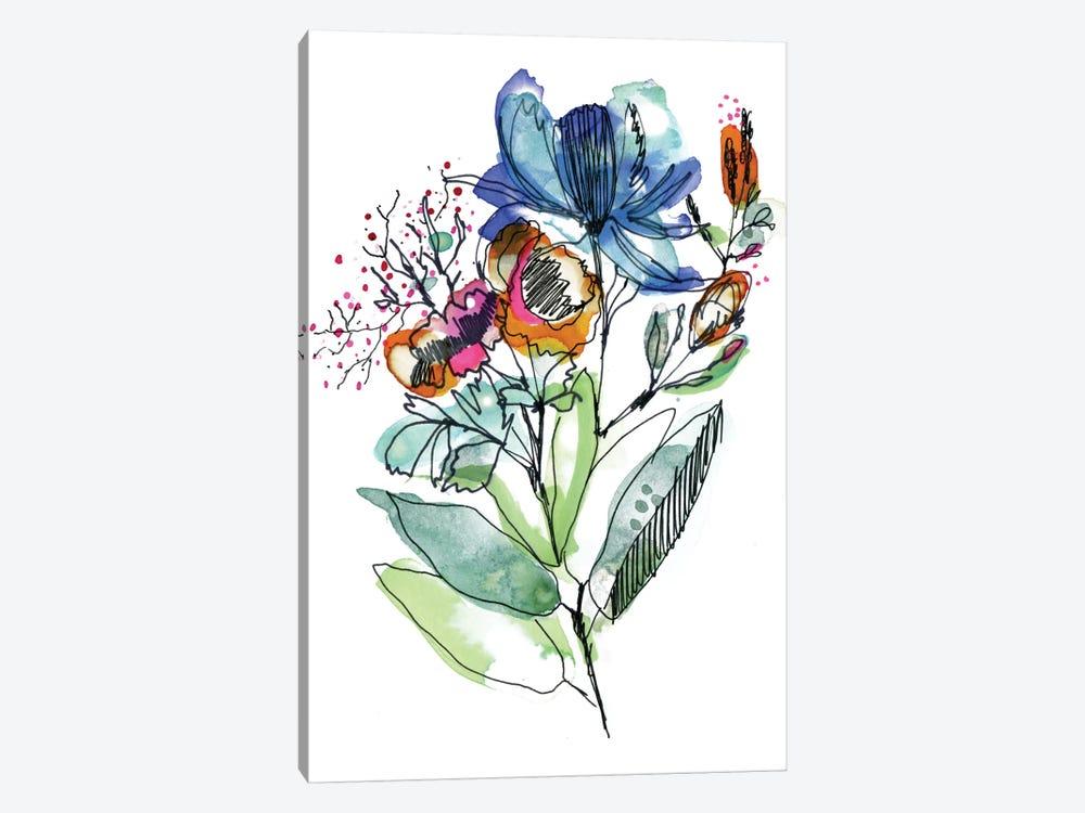 Flower Bouquet by Cayena Blanca 1-piece Canvas Art