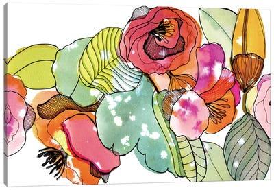 Flower Crown Canvas Art Print