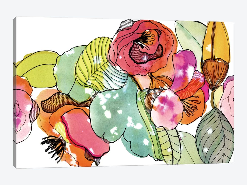 Flower Crown by Cayena Blanca 1-piece Canvas Print
