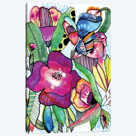 Flower Dream Canvas Print #CBA30} by Cayena Blanca Canvas Art