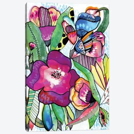 Flower Dream Canvas Print #CBA30} by Cayena Blanca Canvas Art