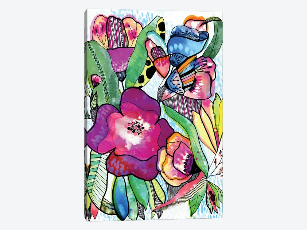 Flower Dream by Cayena Blanca 1-piece Canvas Print