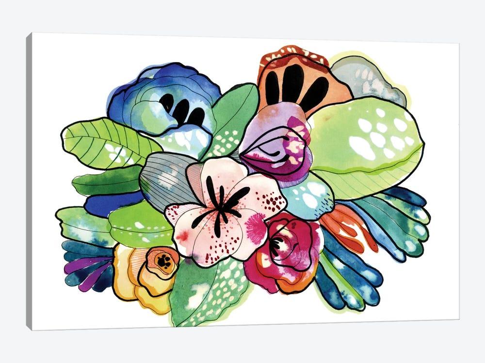 Flower Island by Cayena Blanca 1-piece Canvas Wall Art