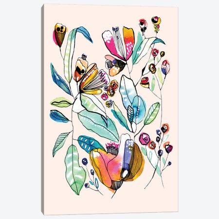Wild Flowers II Canvas Print #CBA40} by Cayena Blanca Canvas Art Print