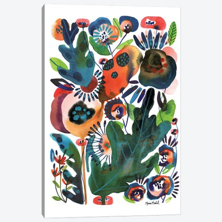 Herb Garden Canvas Print #CBA55} by Cayena Blanca Art Print