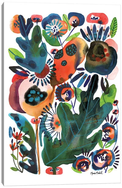 Herb Garden Canvas Art Print