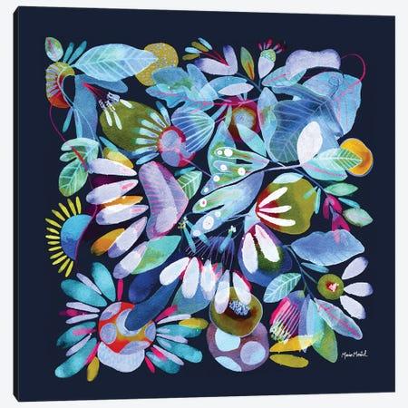 Floral Canvas I Canvas Print #CBA57} by Cayena Blanca Canvas Print