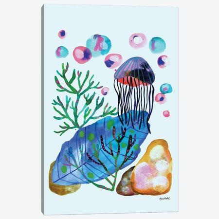 Sea Life Canvas Print #CBA58} by Cayena Blanca Canvas Art