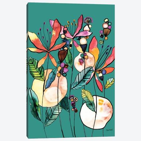 Desert Butterflies Canvas Print #CBA59} by Cayena Blanca Canvas Art