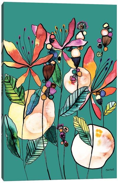 Desert Butterflies Canvas Art Print
