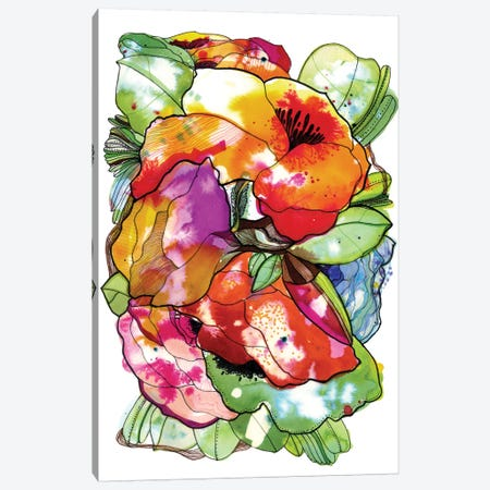 Organic Flowers Canvas Print #CBA5} by Cayena Blanca Canvas Print
