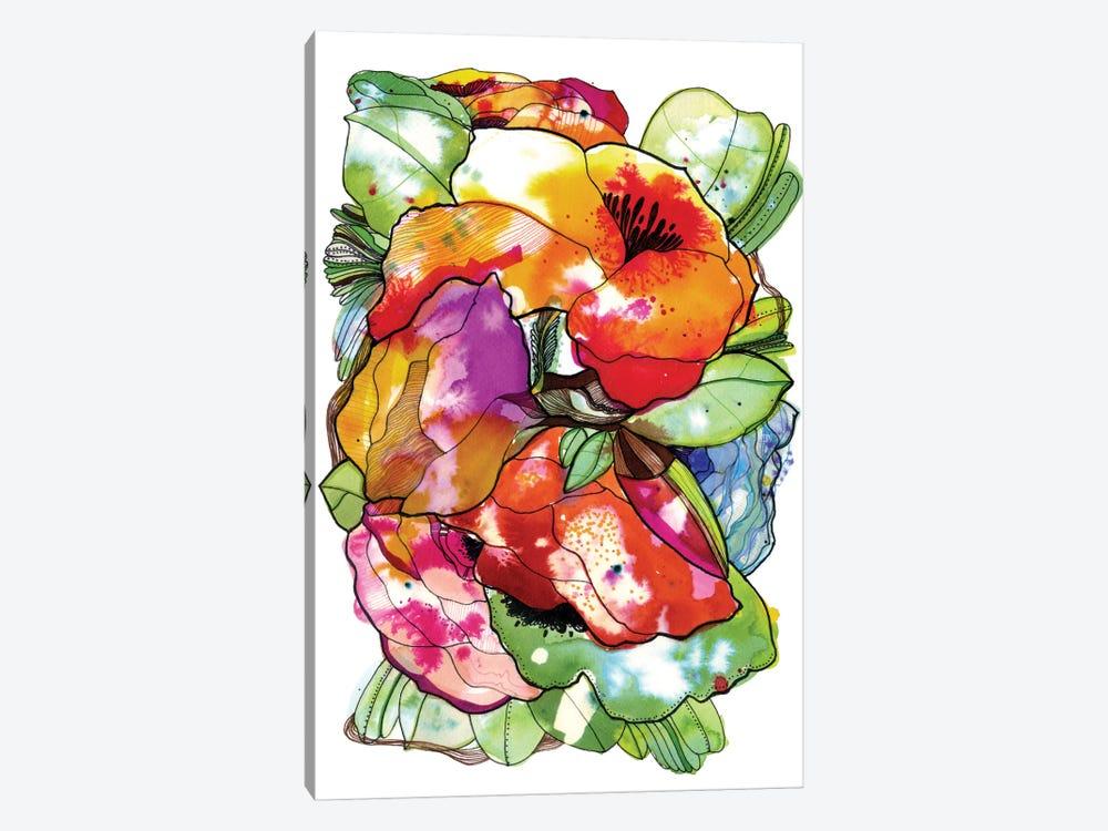 Organic Flowers by Cayena Blanca 1-piece Canvas Art