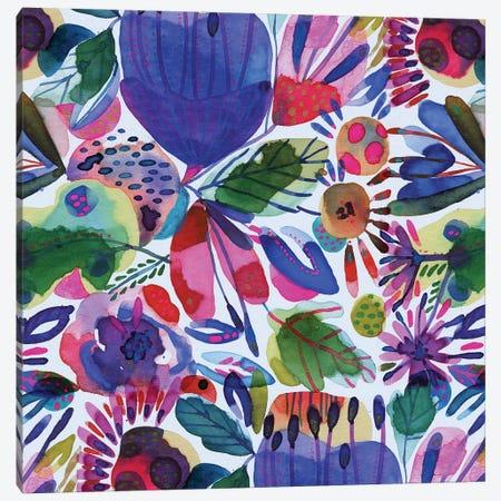 Floral Canvas Ii Canvas Print #CBA60} by Cayena Blanca Canvas Art Print