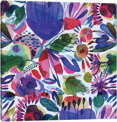 Floral Canvas Ii Canvas Art Print