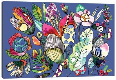Organic Lines Canvas Art Print