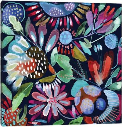 Floral Canvas Iii Canvas Art Print