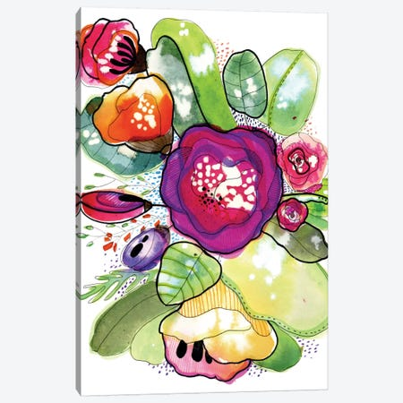 Organic Poetry Canvas Print #CBA6} by Cayena Blanca Canvas Print