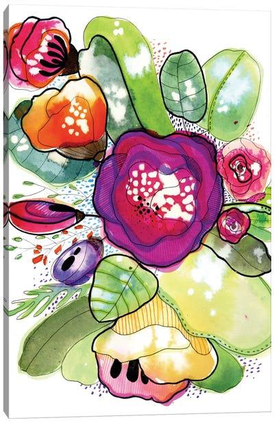 Organic Poetry Canvas Art Print