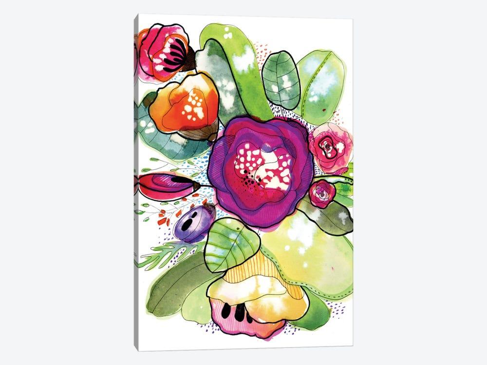 Organic Poetry by Cayena Blanca 1-piece Canvas Art Print
