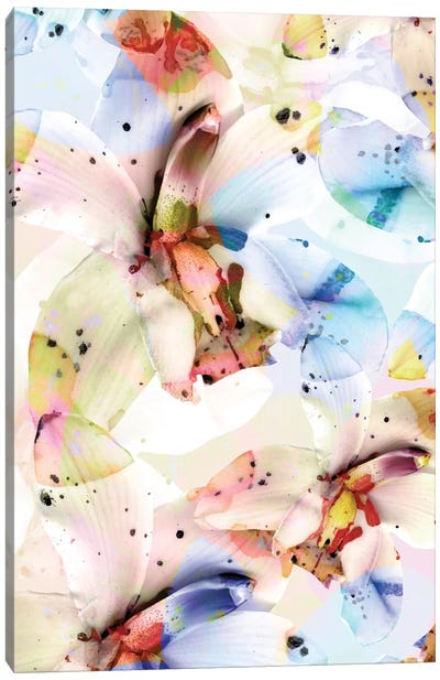 Psycho Orchids Canvas Art Print