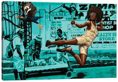 Black Belt Jones Canvas Art Print