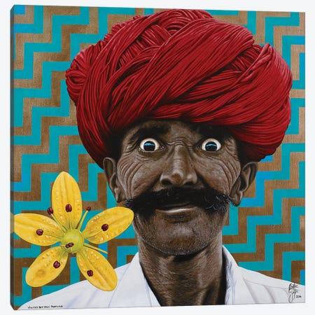 Wild Eyed Boy Canvas Print #CBE21} by Christian Beijer Canvas Print