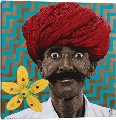 Wild Eyed Boy Canvas Art Print