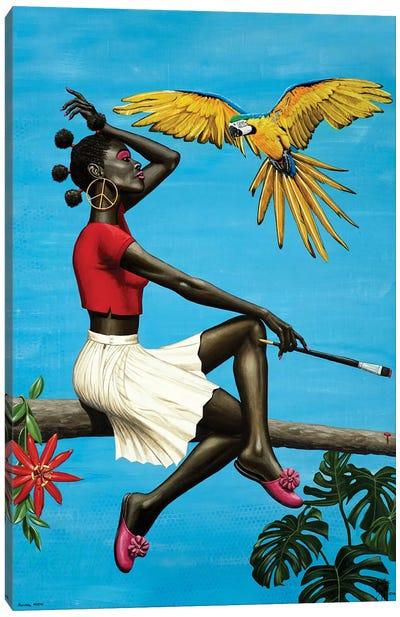 Natural mystic Canvas Art Print