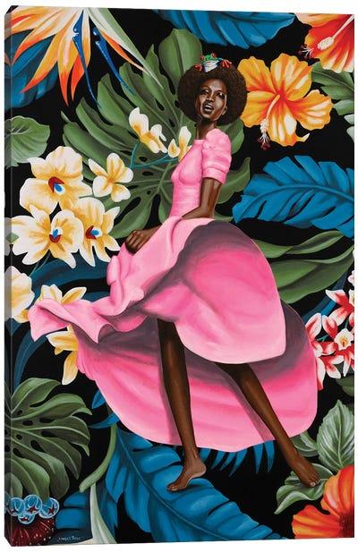 Jungle Rose Canvas Art Print