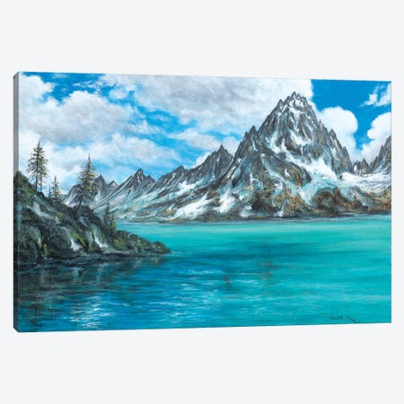 Moving Mountains Canvas Print #CBF10} by ColorByFeliks Art Print