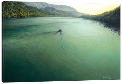 Quiet Lake Canvas Art Print