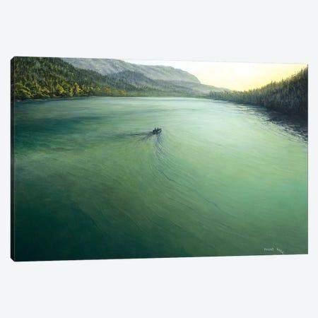 Quiet Lake Canvas Print #CBF11} by ColorByFeliks Canvas Art Print