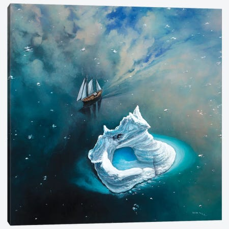 Soaring Through The Sky 3-Piece Canvas #CBF14} by ColorByFeliks Canvas Wall Art