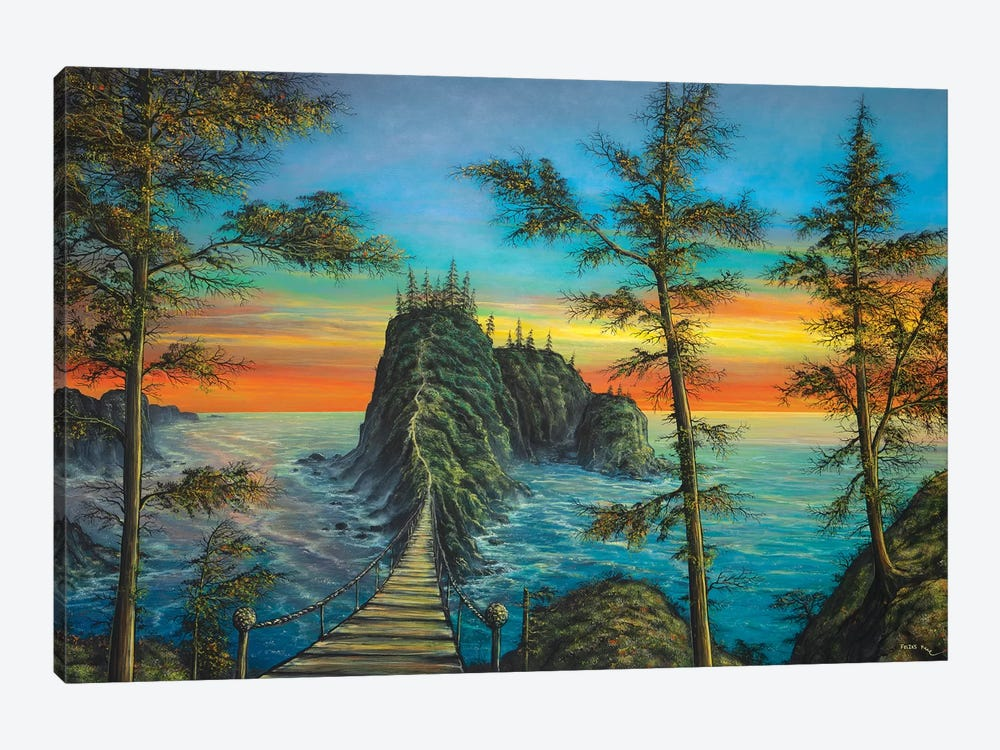 The Mysterious Island by ColorByFeliks 1-piece Art Print