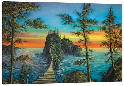 The Mysterious Island Canvas Art Print