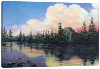 Thinking of P.N.W. Canvas Art Print