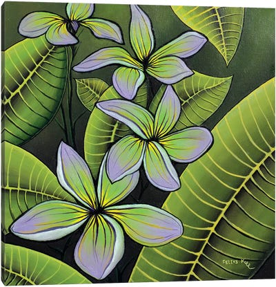 Troplical Flora Canvas Art Print