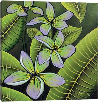 Troplical Flora Canvas Art Print
