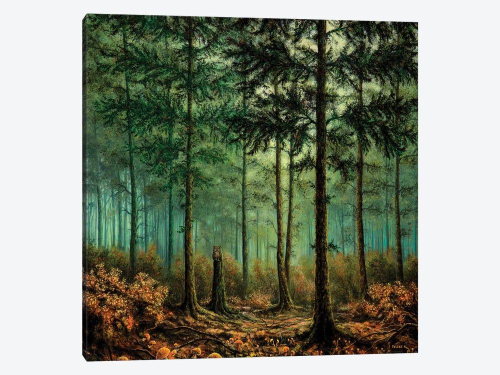 Feels Like Home by ColorByFeliks 1-piece Canvas Print