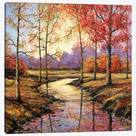 That Time of Year 3-Piece Canvas #CBF24} by ColorByFeliks Canvas Print