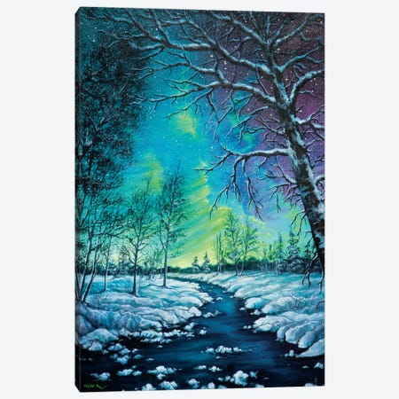 Neon Night Canvas Print #CBF28} by ColorByFeliks Canvas Artwork