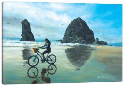 Chill Days At The Coast Canvas Art Print
