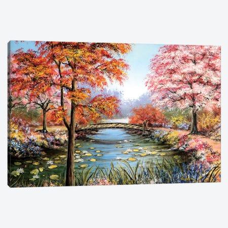 Colorful Garden Canvas Print #CBF30} by ColorByFeliks Art Print