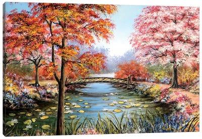 Colorful Garden Canvas Art Print